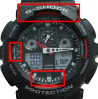Основные отличия подделки часов G-SHOCK