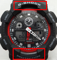 PROTECTION и G-SHOCK меньше