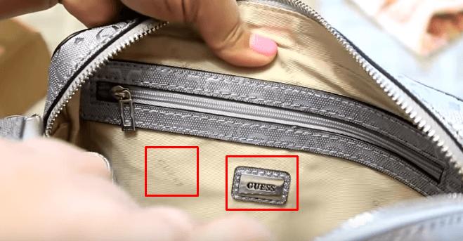 Подкладка сумки Guess
