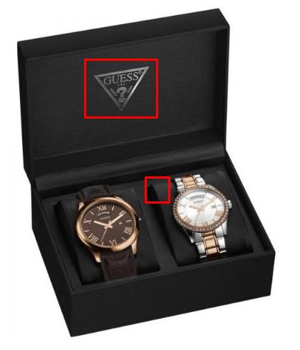 Футляр оригинальных часов Guess
