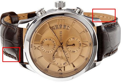 отличия оригинальных часов GUESS от подделки
