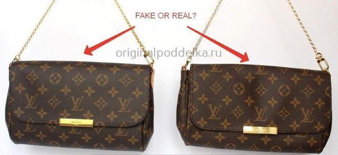 Как отличить подделку Louis Vuitton?