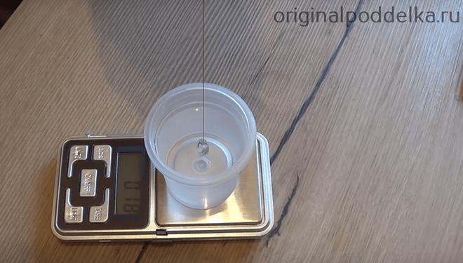 Плотность и вес
