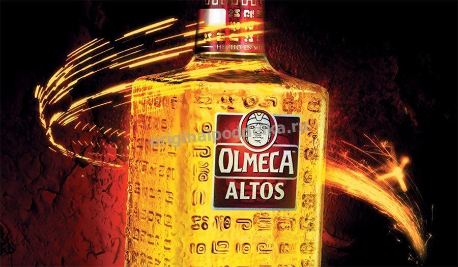 Бутылка текилы Ольмека