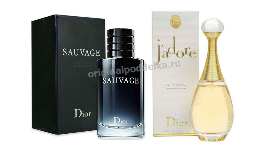 Dior Sauvage & J'adore