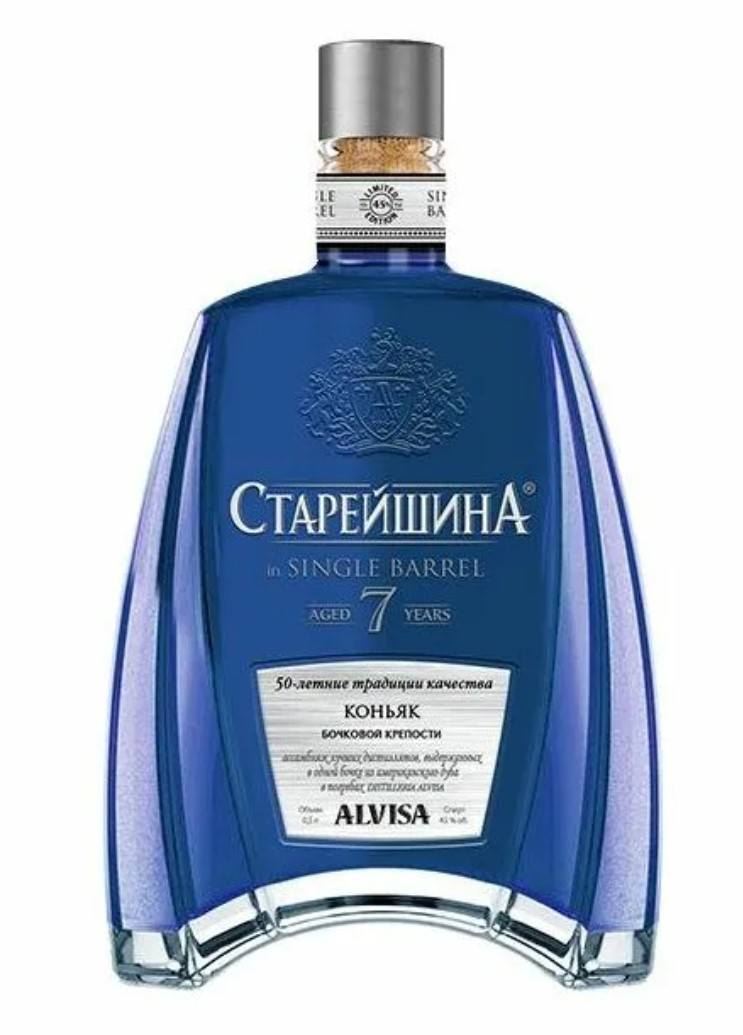 Коньяк Старейшина in Single Barrel