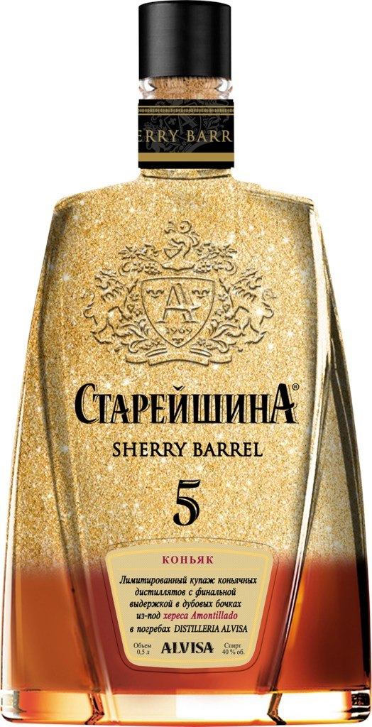 Коньяк Старейшина Sherry Barrel