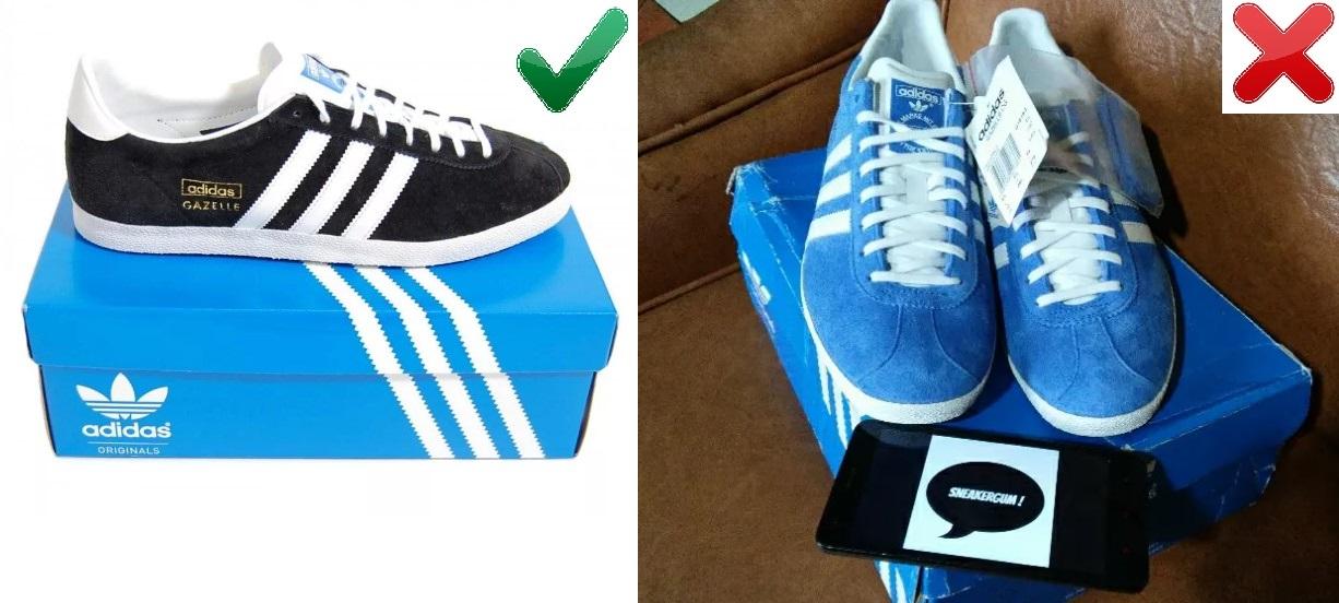 Упаковка Adidas Gazelle