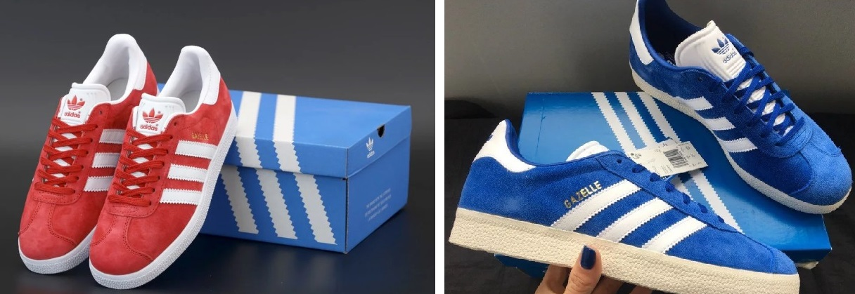 Цвета кроссовок Adidas Gazelle