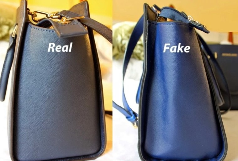 Форма сумки оригинал и подделка