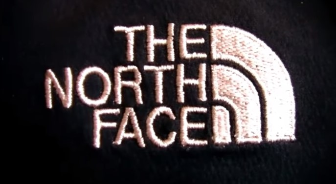 Логотип оригинала The North Face