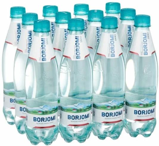 Вода Боржоми в пластике