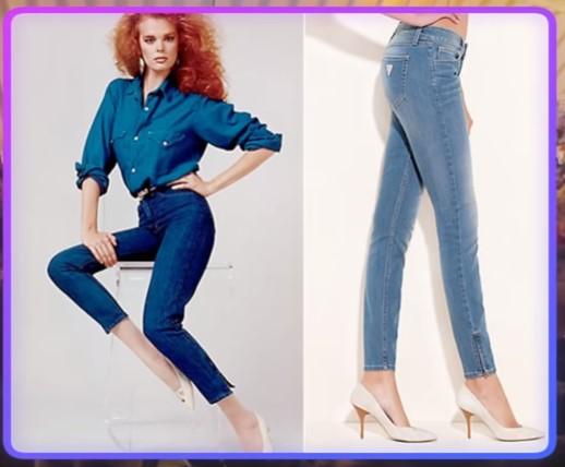 Первые джинсы Guess