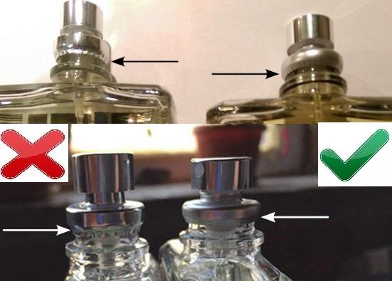 Распылитель оригинальных Escentric Molecules и подделки