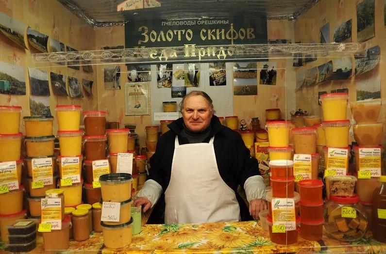 Продавцы меда