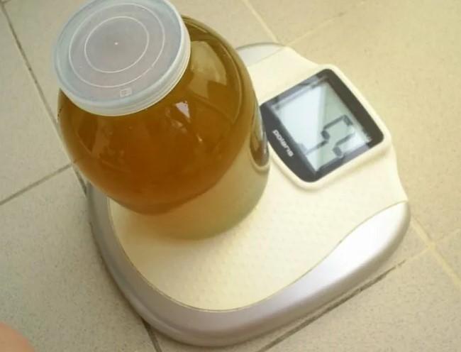 Взвешивание меда