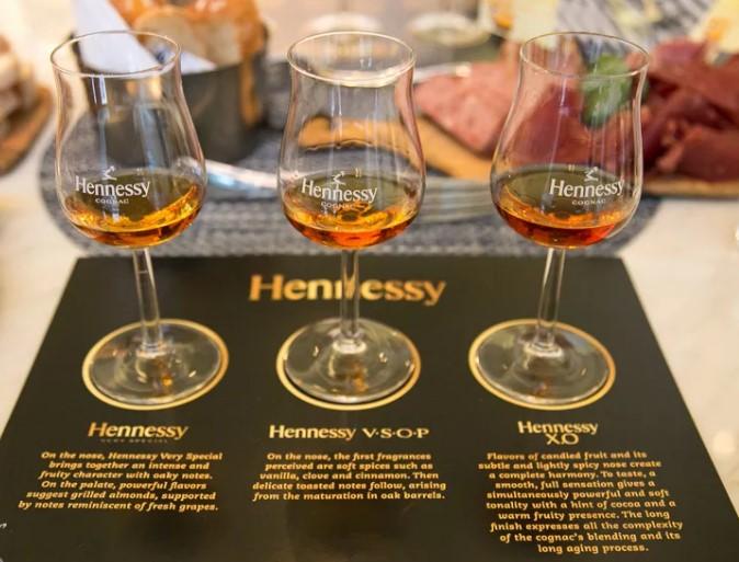 Дегустация Hennessy