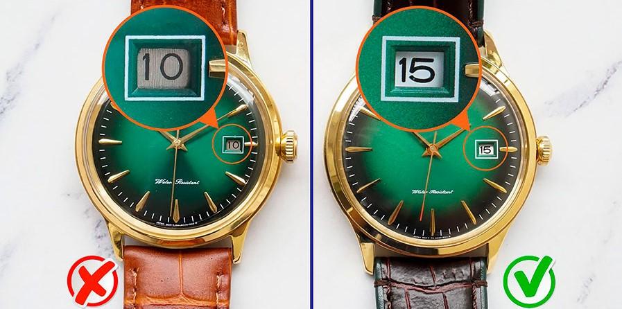 Сравнение оригинальных часов Orient и подделки
