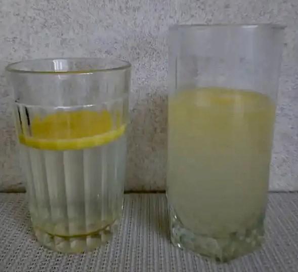Натуральное сливочное масло и спред в горячей воде