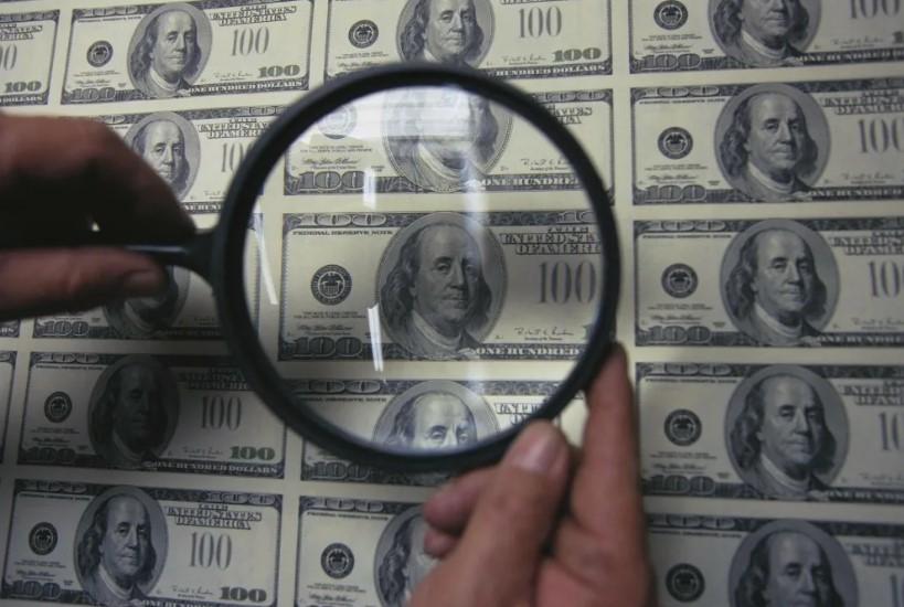 Проверка подлинности долларов