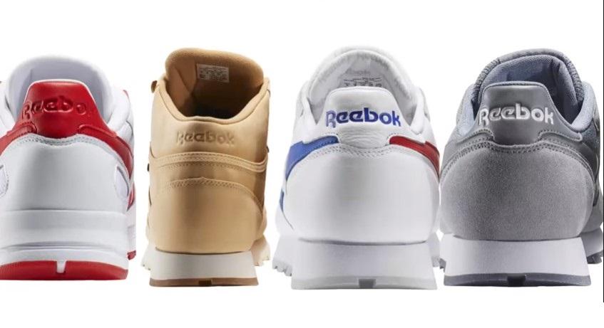 Швы на пятке на оригинальных кроссовках Reebok и подделке