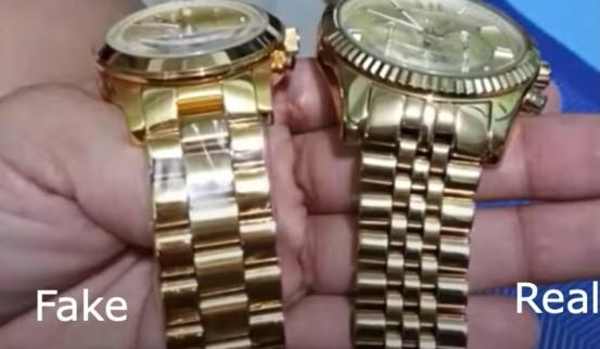 Ремешок оригинальных часов Tissot и подделки