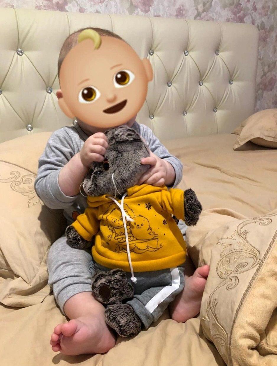 Подарок ребенку кот Басик