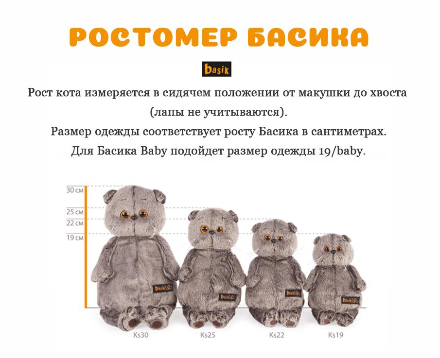 Рост кота Басик