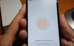 Настройка сканера отпечатка пальца на Xiaomi Redmi 4X