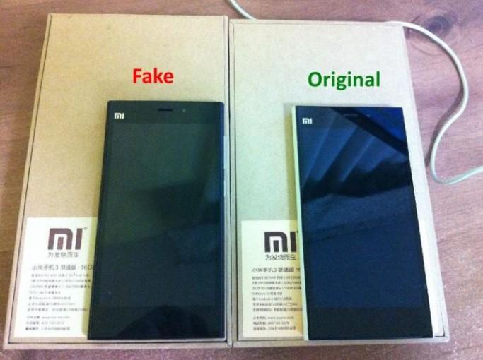 Сравнение оригинального Xiaomi и подделки