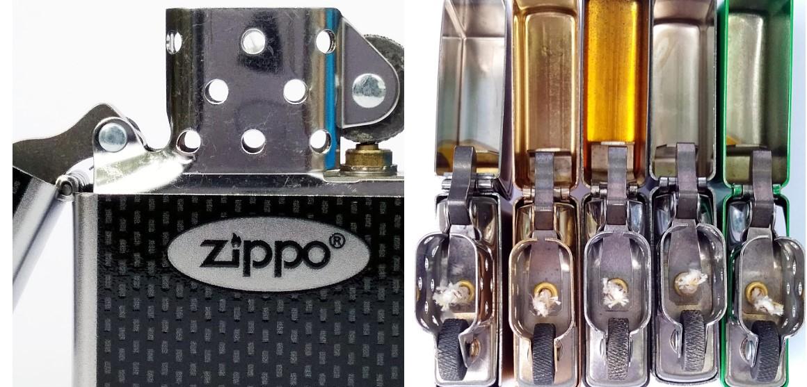 Ветрозащитный экран зажигалки Zippo