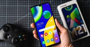 Samsung Galaxy M21 экран