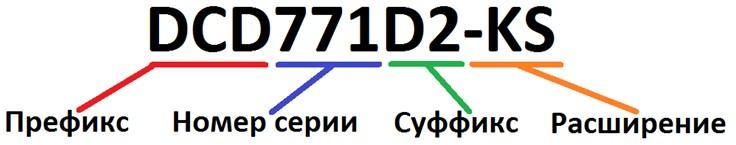 Артикул инструментов Dewalt и его расшифровка