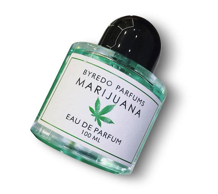Духи Байредо с марихуаной