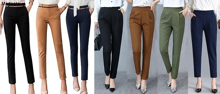 что носить с брюками