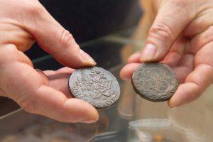 Подделка монет под старину