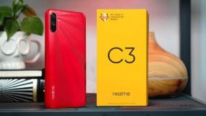 Realme C3 с коробкой