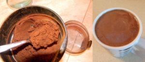 Цвет и пенка оригинального кофе