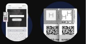 Проверка оригинальности через QR-код HQD
