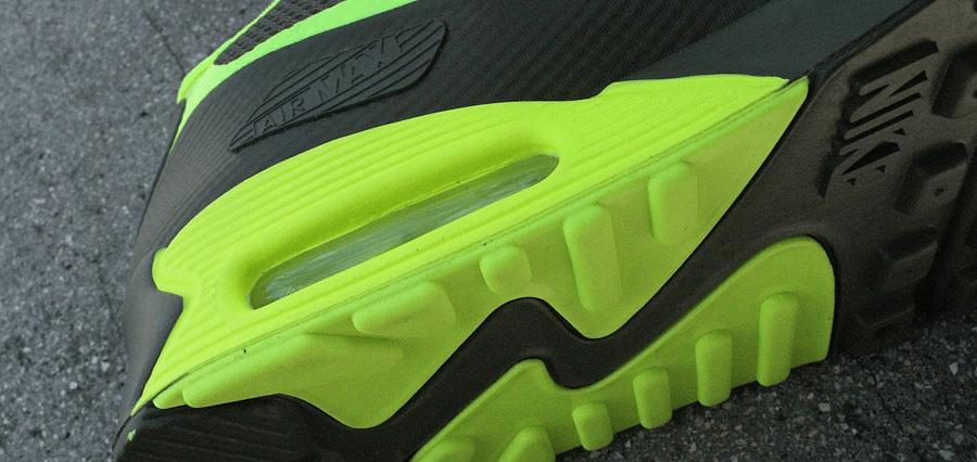Текстура подошвы кроссовки Air Max 90
