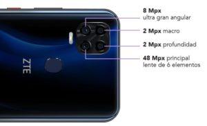 Характеристики камеры ZTE Blade V2020 Smart