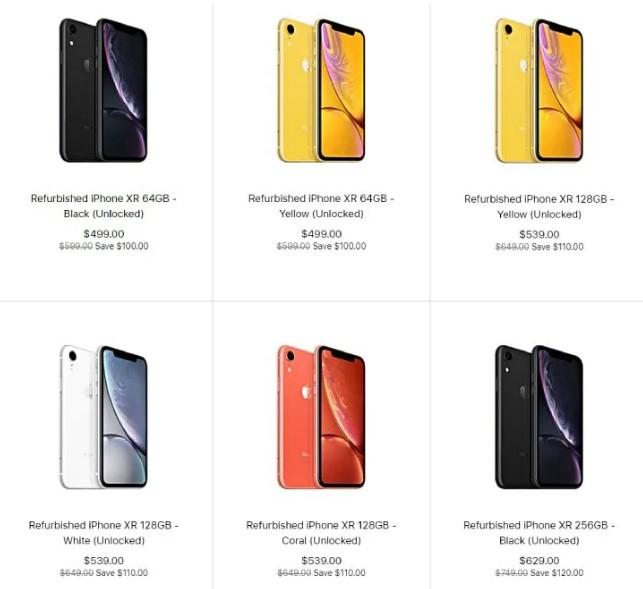 Цена восстановленного айфона