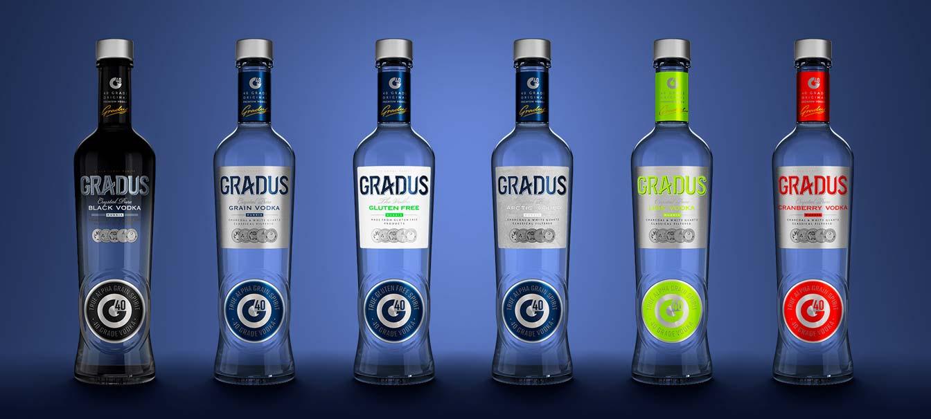 Водка Gradus