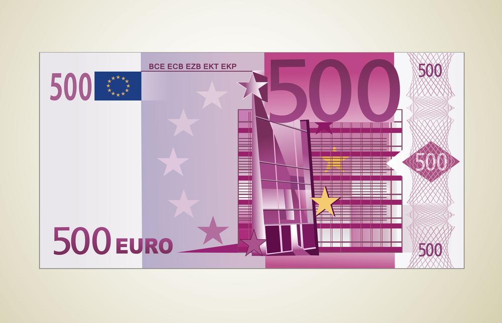 500 евро подделка