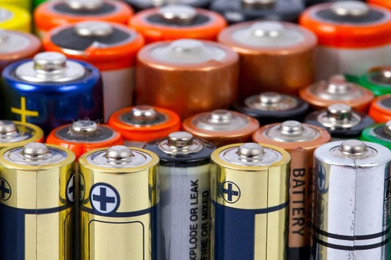 Обычные батарейки