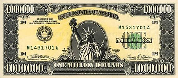 1 000 000 долларов