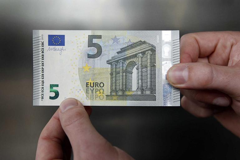 5 евро подделка