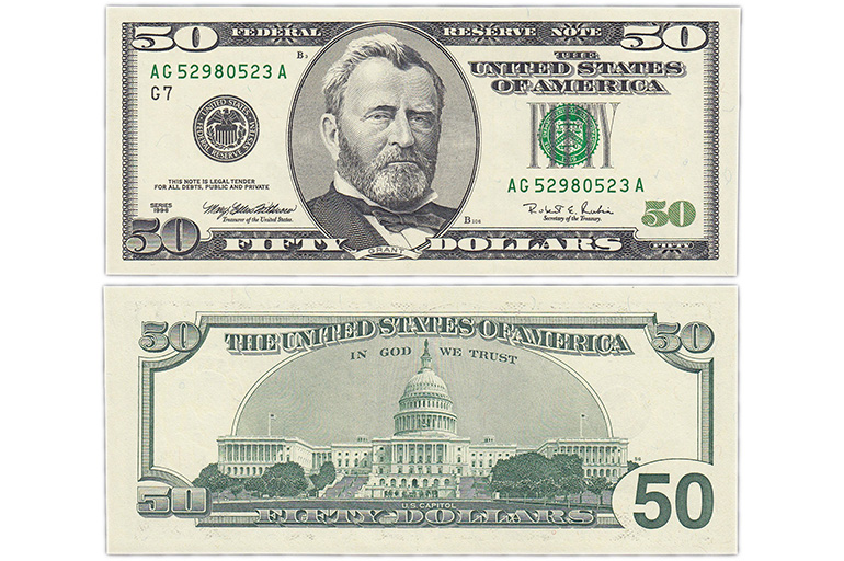 50 долларов